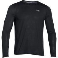 Men's UA Streaker Run Long Sleeve TShirt - Black