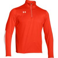 UA Qualifier 1/4 Zip - Dark Orange