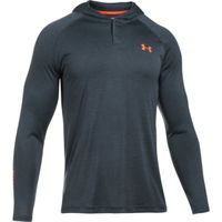 Men's UA Tech Popover Hoodie - Stealth Gray