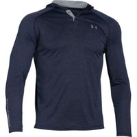 Men's UA Tech Popover Hoodie - Midnight Navy