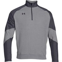 UA Perf Fleece 1/4 Zip - Steel