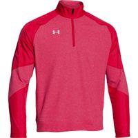 UA Perf Fleece 1/4 Zip - Red