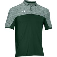 UA Team Podium Polo - Forest Green