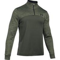 Armour Fleece 1/4 Zip - Downtown Green