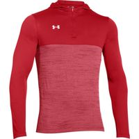 UA Tech 1/4 Zip Hoody - Red