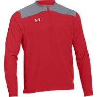 UA Triumph Cage Jacket LS - RED
