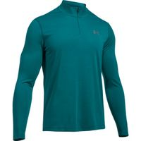 UA THREADBORNE 1/4 ZIP - Turquoise Sky