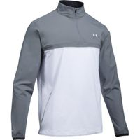 UA Storm WindStrike 1/2 Zip - White