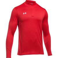Men's UA Locker 1/4 Zip - RED