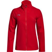 W's UA Squad Woven Jacket - Red