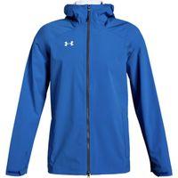 UA M's Storm Rain Jacket - Powderkeg Blue