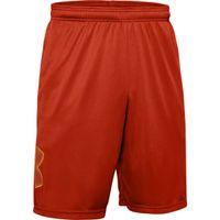 Men's UA Tech™ Graphic Shorts - Rich Orange