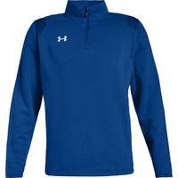 Men's UA Hustle Fleece ¼ Zip - RYL (400)