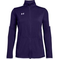 UA W's Rival Knit Jacket - PUR