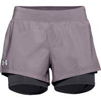 Women's UA Launch SW 2-in-1 Shorts - Slate Purple