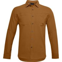 Men's UA Payload Button Down Shirt - Yellow Ochre