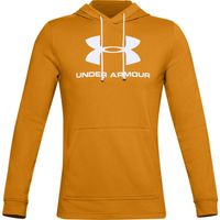 Men's UA Sportstyle Terry Logo Hoodie - Golden Yellow