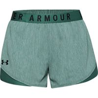 Women's UA Play Up Shorts 3.0 Twist - Saxon Green