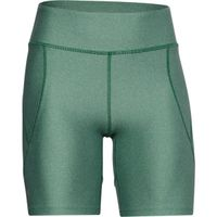 Women's HeatGear® Armour Bike Shorts - Saxon Green Medium Heather