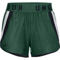 Women's UA Play Up 3.0 Shorts - Saxon Green