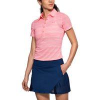 Women's UA Zinger Printed Short Sleeve Polo - Brilliance