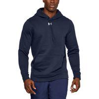Men's UA Hustle Fleece Hoody - MDN (410)