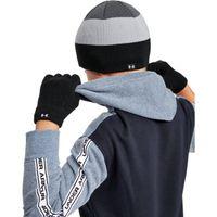 Boys' UA Beanie Glove Combo - Black