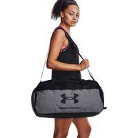UA Loudon Medium Duffle Bag - Pitch Gray Medium Heather