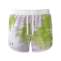 Women's UA Fly-By 2.0 Printed Shorts - Crystal Lilac