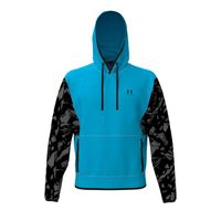 Men's UA Pack Printed Hoodie - Equator Blue