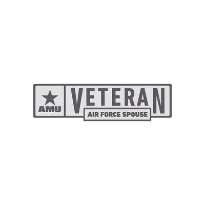 AMU - Air Force Spouse Veteran Pin