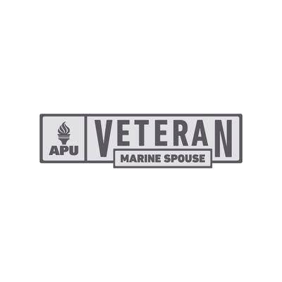 APU - Marine Spouse Veteran Pin