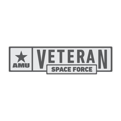 AMU - Space Force Veteran Pin