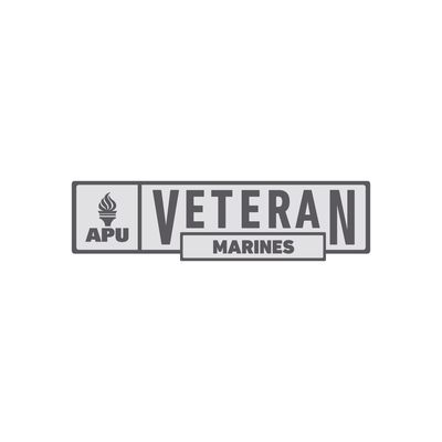 APU - Marines Veteran Pin