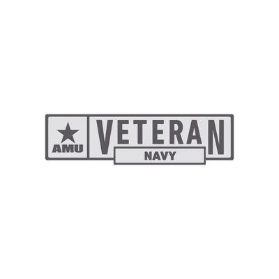 AMU - Navy Veteran Pin