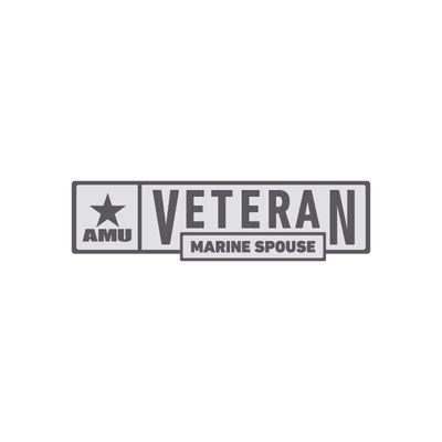AMU - Marine Spouse Veteran Pin