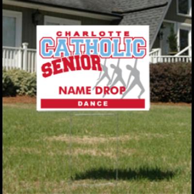 Dance Senior Yard Sign