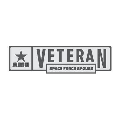 AMU - Space Force Spouse Veteran Pin
