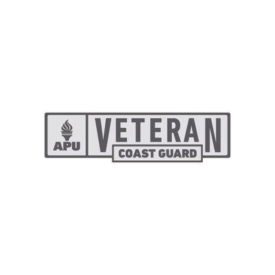 APU - Coast Guard Veteran Pin