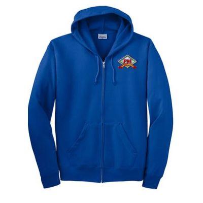 Hanes EcoSmart Full-Zip Hooded Sweatshirt