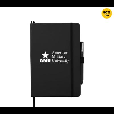 AMU - Hard Bound Journal w/ Pen