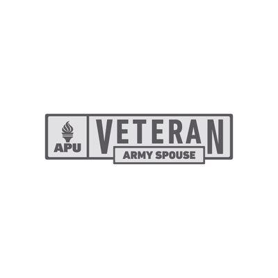 APU - Army Spouse Veteran Pin