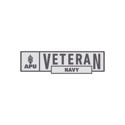 APU - Navy Veteran Pin