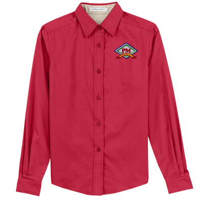 Ladies Port Authority Long Sleeve Easy Care Shirt