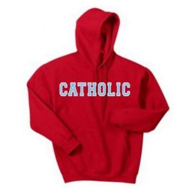 Gildan Heavy Blend Catholic Hoodie