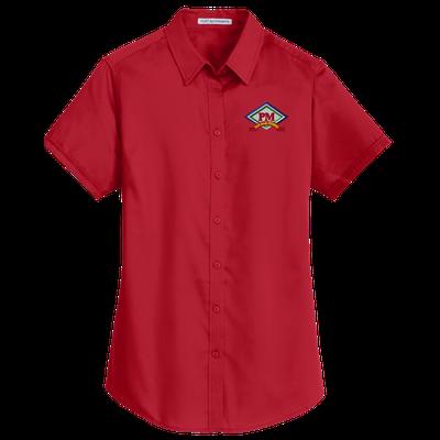 Ladies Port Authority SuperPro Twill Shirt